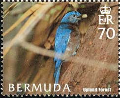 Bermuda MOBL 2005 70 cent stamp.