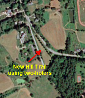 Hill Trail Location - via Google Earth